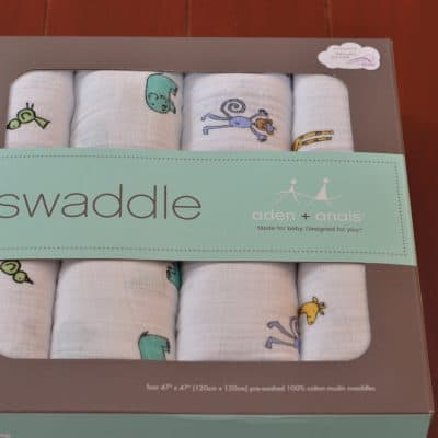 Aden + Anais Swaddle Blanket Review