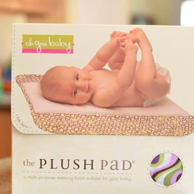 Ah Goo Baby Plush Pad Review and Giveaway Ends 6/7/11