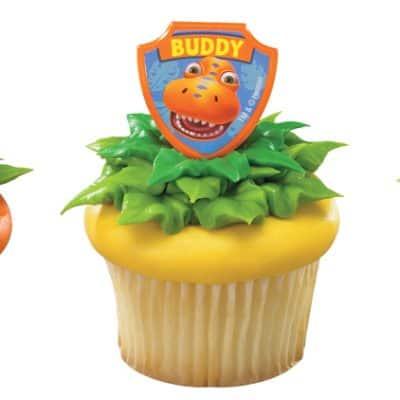 Dinosaur Train Cake Decorating Set and Cupcake Rings Giveaway