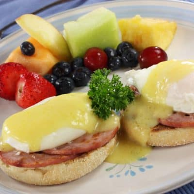 National Eggs Benedict Day is April 16 (2 recipes inside)