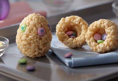 Hidden Surprise Easter Egg Treats™ Recipe – Kellogg's® Rice Krispies®