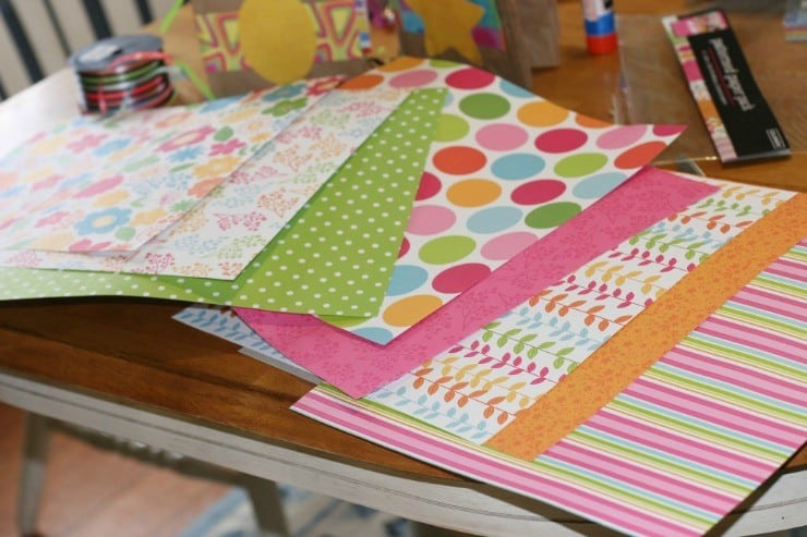 scrapbook-paper-lunch-bag-album