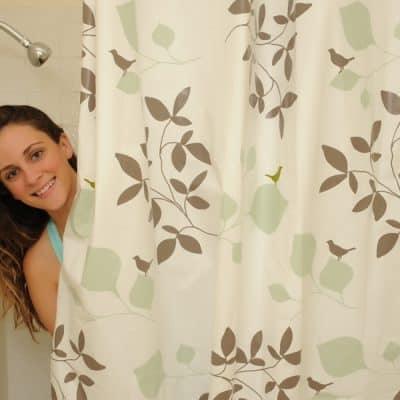 Rock Candy Life Eco-Friendly Shower Curtain (Giveaway)