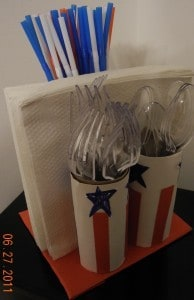 Kids Frugal Fun: Patriotic Napkin & Utensil Holder