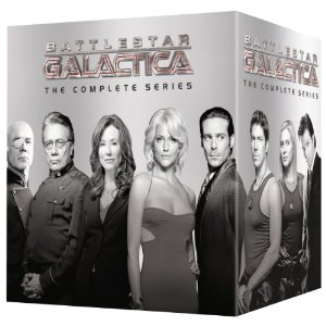 Battlestar Galactica ENTIRE series on DVD 62% off HURRY!!  (Don't Forget Dad)