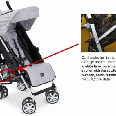*RECALL* Britax B-Nimble Stroller: Risk of Brake Failure