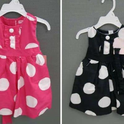 *RECALL*  Emma's Garden Polka-Dot Girls' Dresses