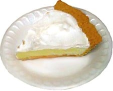 Key Lime Pie (in honor of my mom's birthday today)
