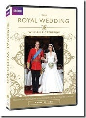 The Royal Wedding – William & Catherine DVD (Giveaway)