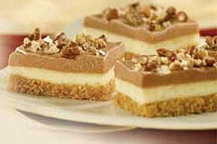 No Bake Chocolate Cheesecake Bars- July 30 is Cheesecake Day!