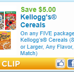 kellog coupon