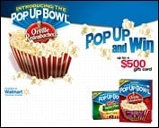 Couch Critics & Orville Redenbacher are giving away PRIZES.  To fans!!