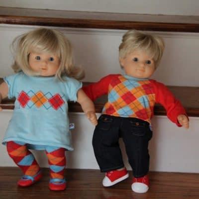 American Girl Bitty Twins