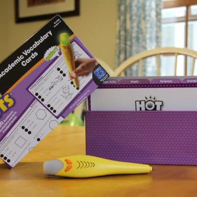 Talking Hot Dots® Pen & Vocabulary Flash Cards (Giveaway)