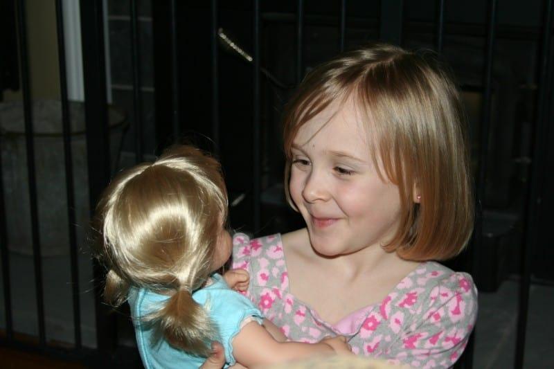 American Girl Bitty Twin Blonde