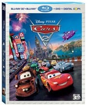 Cars2 Races Home on BluRay/DVD November 1st