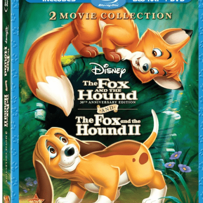 The Fox and the Hound 2-Movie Collection on BluRay DVD