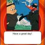 happy birthday looney tunes card