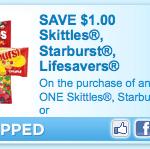 starburst skittles