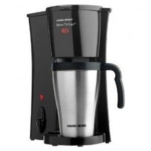 Black & Decker Brew 'n Go Personal Coffeemaker and 15-oz. Travel Mug – Target Deal of Day