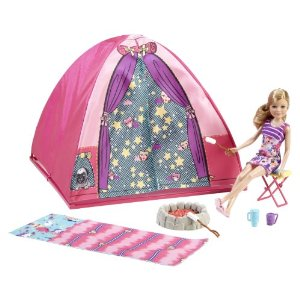 Let's Go Camping Barbie Style