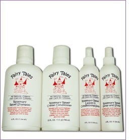 Fairy Tales Hair Care helps prevent lice- naturally