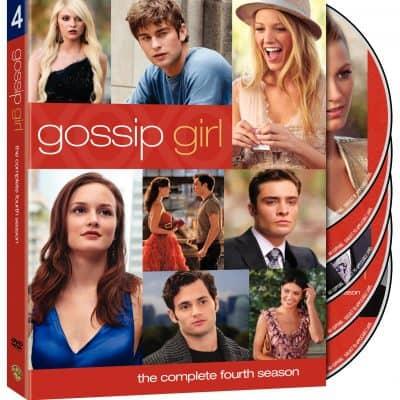 Gossip Girl Season 4 on DVD plus bonus features