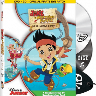 JAKE AND THE NEVER LAND PIRATES DVD & Soundtrack
