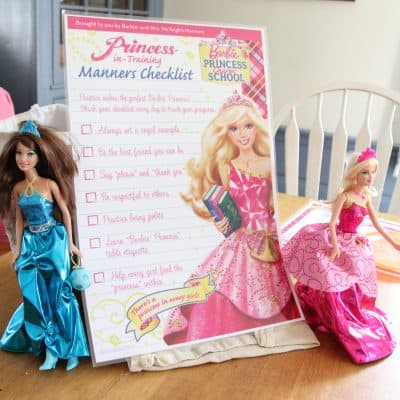 We went to Barbie Princess (and Prince) Charm School- and loved it!