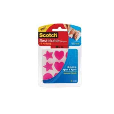Scotch Restickable Shapes & Strips