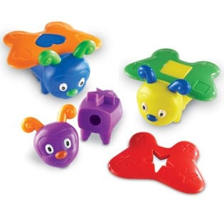 Learning Resources Snap-n-Learn Shape Butterflies (Giveaway)