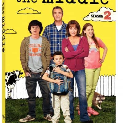 The Middle (Season Two) on DVD 9/27