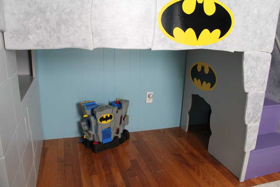 A Batman Bed And Room For A Little Boy This Mama