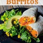 Sweet potato burrito recipe- This Mama Loves
