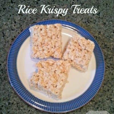 Salted Brown Butter Rice Krispy Treats