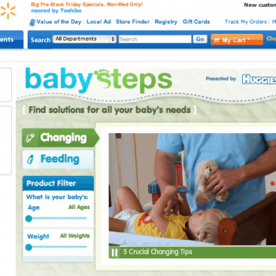 Walmart's Baby Steps & $100 Walmart Gift Card #Giveaway