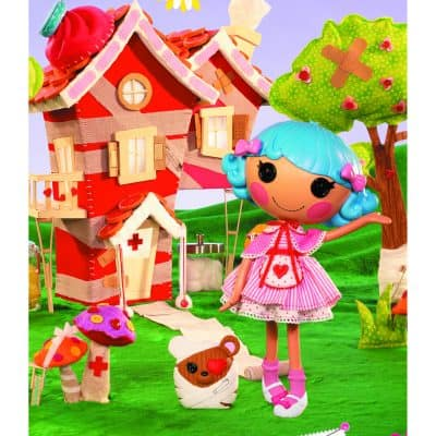 All-New Lalaloopsy™ Nurse Doll – Rosy Bumps 'N' Bruises™ – Teams Up with Red Cross this Holiday Season to Promote Blood Donations and Honor Nurses