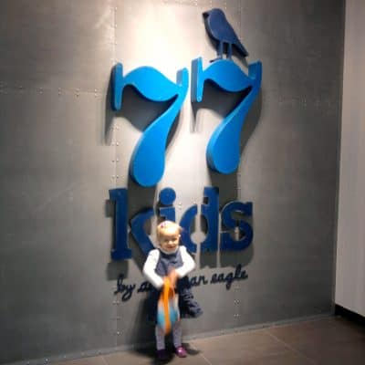 77kids offers a fun shopping experience for grownups and kids!