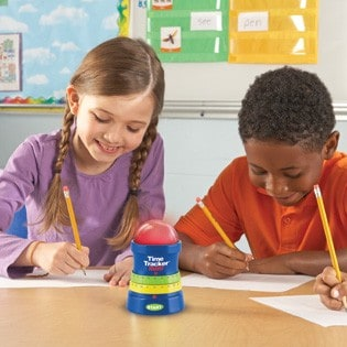 Learning Resources Time Tracker® Mini & Let's Tackle Kindergarten (Giveaway)