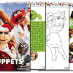 muppets activity pages
