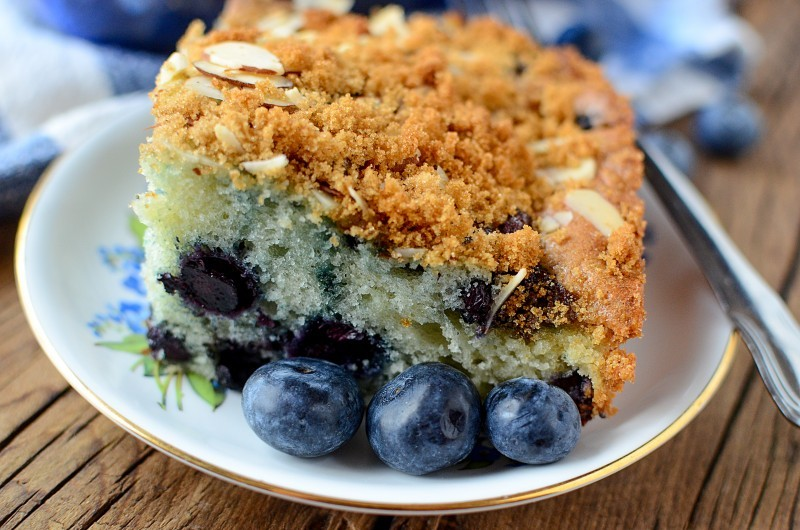 Blueberry Coffee Cake 7
