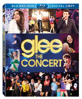 Glee: The Concert Movie BluRay #Giveaway