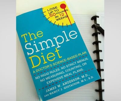 Weight Loss on a Budget: The Simple Diet with Dr. James Anderson, a live chat on The Motherhood