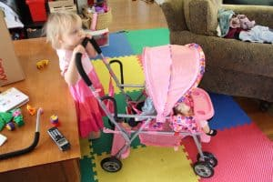 Joovy Caboose Toy Stroller