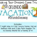 disney vacation giveaway