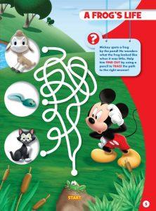 disney junior magazine maze