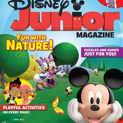 Disney Junior Magazine Review & Giveaway #DisneyJunior