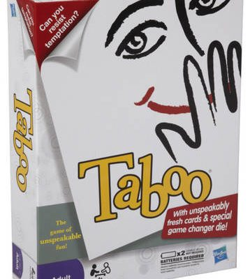 TABOO Review and Flash #Giveaway