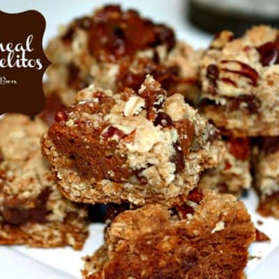 Oatmeal Carmelitos – The MOST delicious cookie bar you will ever taste!