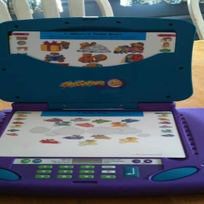 GeoSafari® Jr. Laptop for kids Ages 3-7 Edition Educational Insights #Giveaway